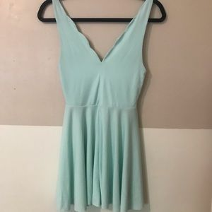 Urban Outfitters Teal Blue Romper